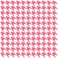 Pink Houndstooth check vector data