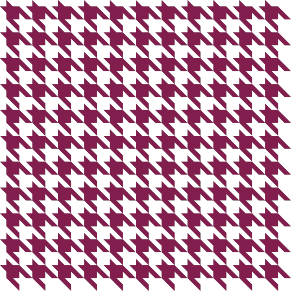 Purple Houndstooth check vector data
