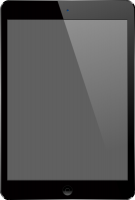Black iPad Air vector data
