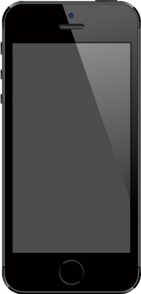 iPhone 5S Space Gray vector data for free.