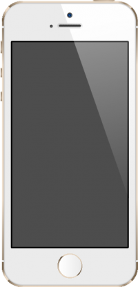 iPhone 5S Gold vector data for free.