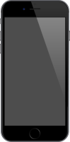 iPhone 6 space gray vector data for free.