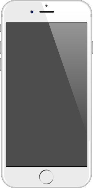 iPhone 6 silver vector data for free.