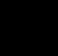 Chinese Character,Kanji [kirameki] means twinkle or glitter.vector data. Japaniese calligraphy.