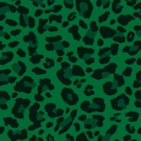Seamless green leopard texture pattern