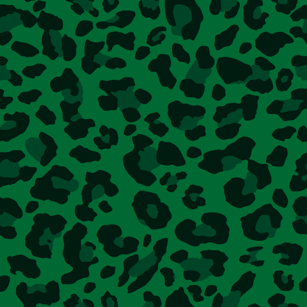 Green leopard print vector - photo#5