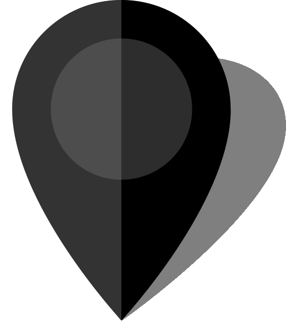 Simple location map pin icon10 black free vector data