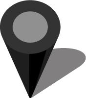 Simple location map pin icon3 black free vector data