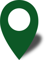 Simple location map pin icon2 dark green free vector data