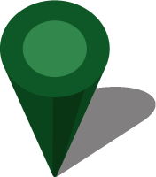 Simple location map pin icon3 dark green free vector data