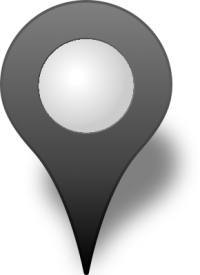 Location map pin GRAY3