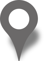 Simple location map pin icon gray free vector data