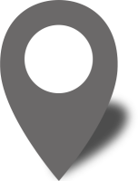 Simple location map pin icon2 gray free vector data