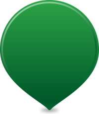 location map pin GREEN