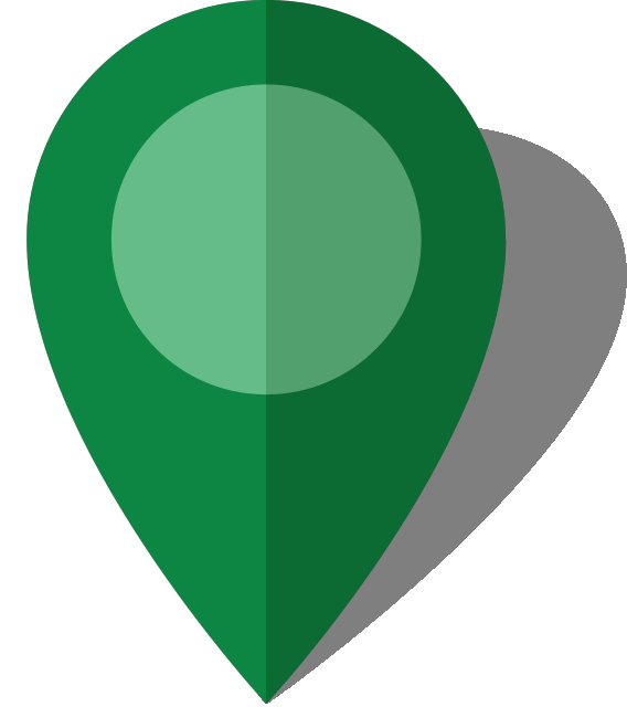 Simple location map pin icon10 green free vector data