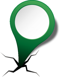 location map pin GREEN2