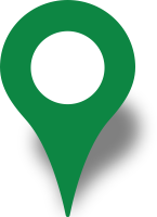 Simple location map pin icon green free vector data