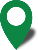 Simple location map pin icon2 green free vector data