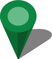 Simple location map pin icon3 green free vector data