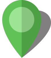 Simple location map pin icon10 light green free vector data