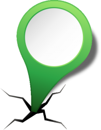 location map pin LIGHT GREEN2