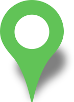 Simple location map pin icon light green free vector data