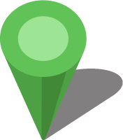 Simple location map pin icon3 light green free vector data