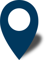 Simple location map pin icon2 navy blue free vector data