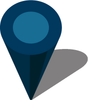 Simple location map pin icon3 navy blue free vector data