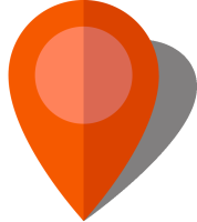 Simple location map pin icon10 orange free vector data