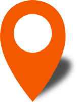 Simple location map pin icon2 orange free vector data