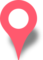 Simple location map pin icon pink free vector data