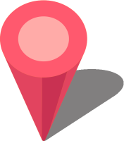 Simple location map pin icon3 pink free vector data