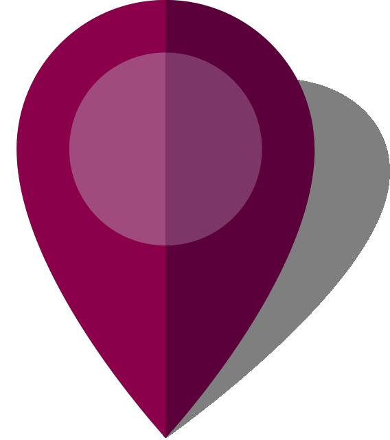 Simple location map pin icon10 purple free vector data