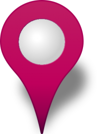 Location map pin PURPLE3