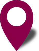 Simple location map pin icon2 purple free vector data