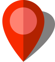 Simple location map pin icon10 red free vector data