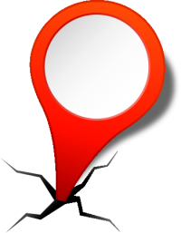 location map pin RED2