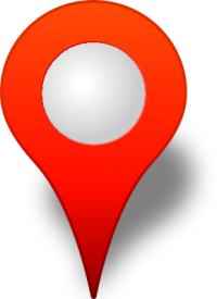Location map pin RED3
