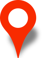 Simple location map pin icon red free vector data