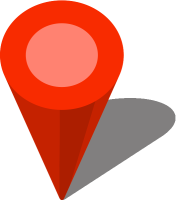 Simple location map pin icon3 red free vector data