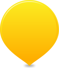 location map pin YELLOW