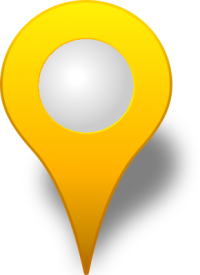 Location map pin YELLOW3