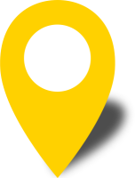 Simple location map pin icon2 yellow free vector data