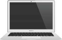 MacBook Air vector icon