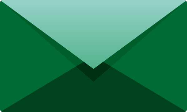 mail_vector_icon_dark_green