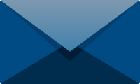 Navy blue E mail icon free vector data.