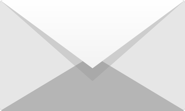 White E mail icon free vector data.