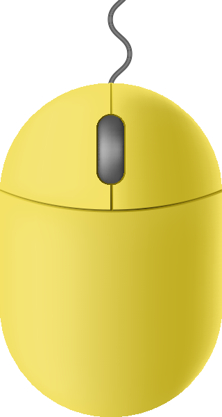 mouse_icon_lemon_yellow