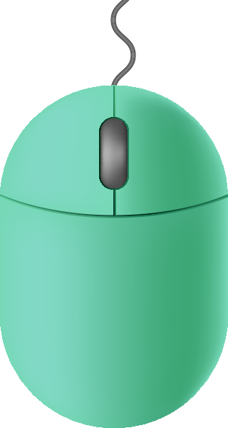mouse_icon_turquoise_blue